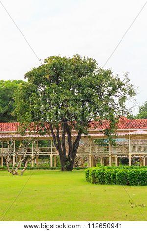 Mrigadayavan Palace (maruekhathaiyawan Palace) In Cha-am, Thailand