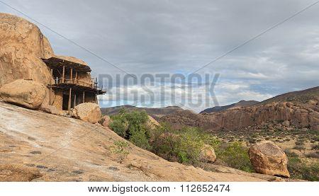 cave dwelling, Namibia