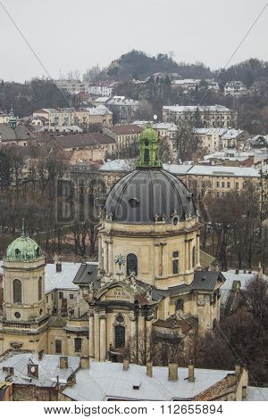 Cathedral In Lviv, The Old Town