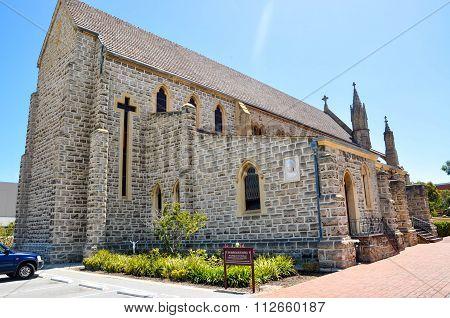 St. Patrick's Basilica: Rear View