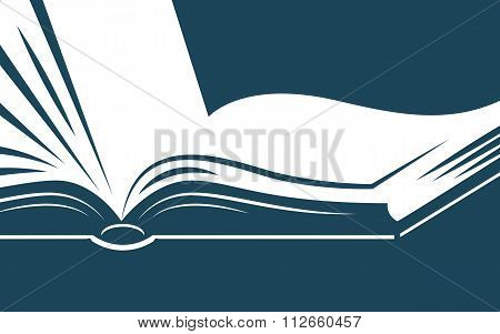 Background With Book