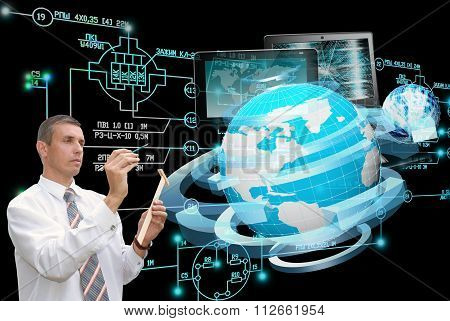 E-computer designing engineering technology.