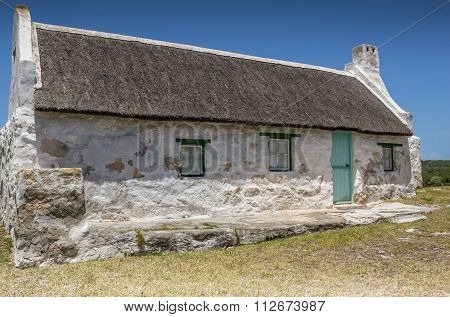 Traditional Fisherman's Cottage At Cape Agulhas South Africa