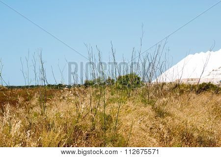 Salt Mountain At Ses Salines, Es Trenc, Mallorca, Spain