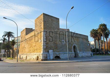 Blockhouse of Sant'Antonio. Bari. Puglia. Southern Italy.
