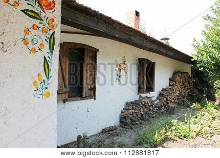Yard In The Ukrainian Style, Zaporizhzhya Sich. Ukraine