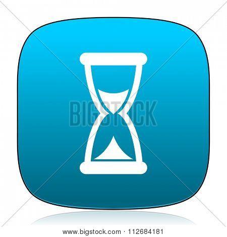 time blue icon