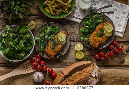 True Viennese Schnitzel