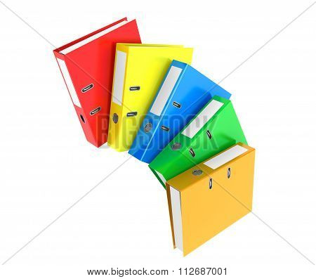 Multicolour Achive Office Binders