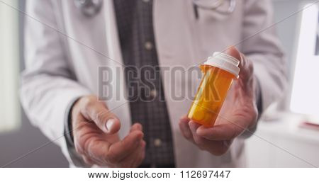 Patient point of view of doctor prescription medication