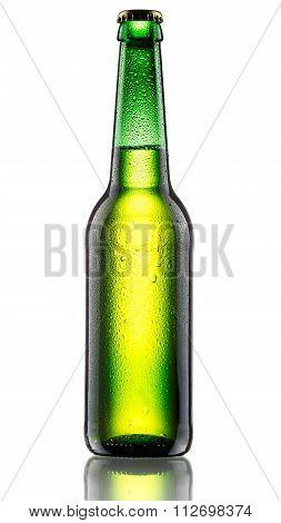 Green Bottle Of Bee