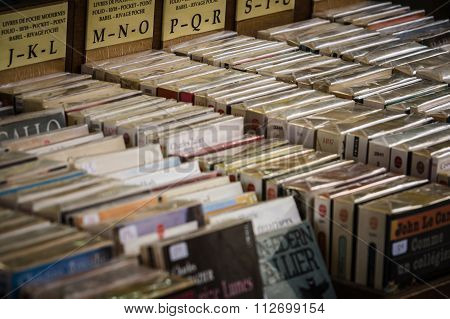 Many Old Book In A Book Shop