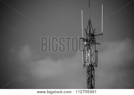cell tower heavy industry overview