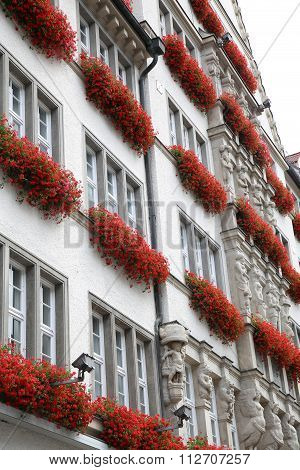 Building In Neuhauser Str, Munich, Bavaria, Germany
