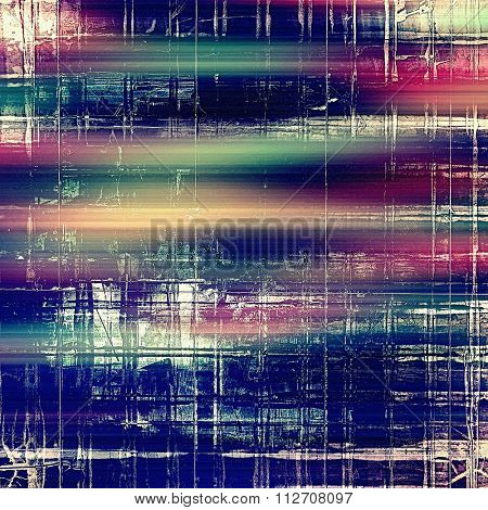 Abstract rough grunge background, colorful texture. With different color patterns: blue; cyan; pink; white; purple (violet)