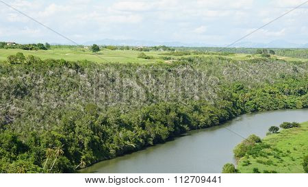 Chavon River in the Dominican Republic