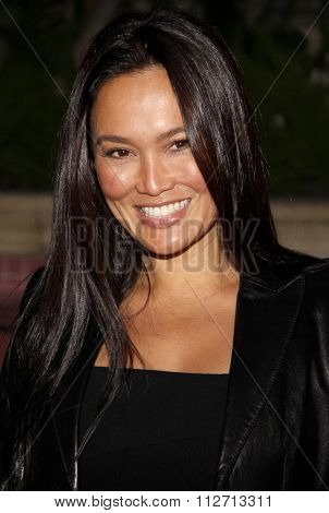 BEVERLY HILLS, CALIFORNIA - March 5, 2010. Tia Carrere at the Celebrate QVC Style held at the Four Seasons Hotel, Beverly Hills.