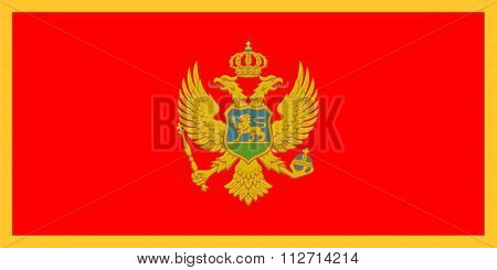 Standard Proportions For Montenegro Flag