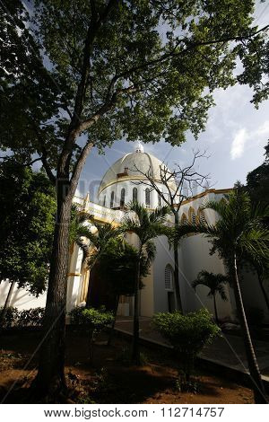 South America Venezuela Isla Margatita Porlamar Catedral