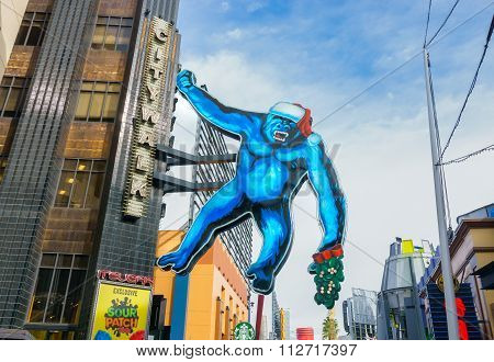 King Kong At Universal Citywalk