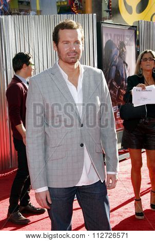 Eric Matheny at the Los Angeles Premiere of