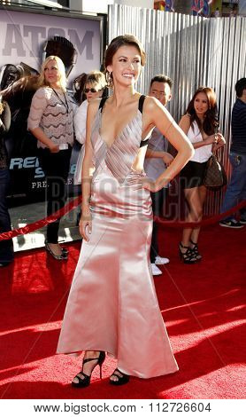 Olga Fonda at the Los Angeles Premiere of