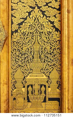 Tradition Thai Painting Style