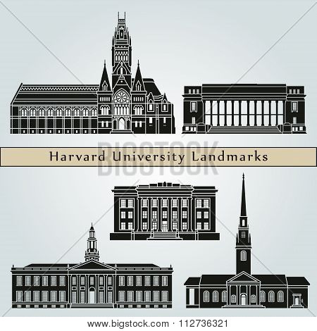 Harvard University Landmarks