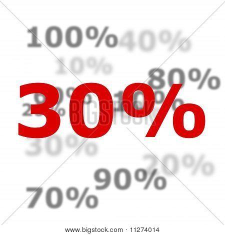 30 Por ciento