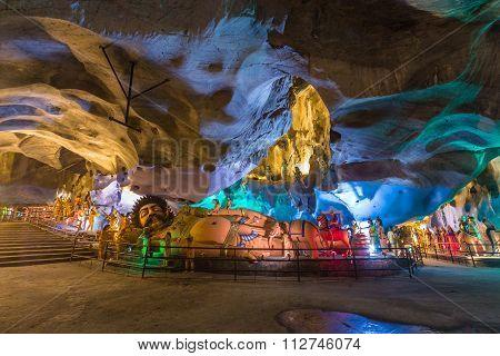 Kuala Lumpur, Malaysia - Circa September 2015: One Of The Caves In The Batu Caves Complex, Malaysia
