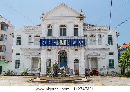 Georgetown, Penang/malaysia - Circa October 2015: Cathayhotel In Georgetown, Penang,  Malaysia
