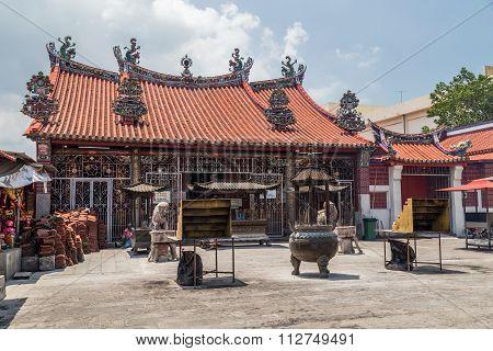 Georgetown, Penang/malaysia - Circa October 2015: Kuan Yin Chinese Buddhist Temple In Georgetown, Pe