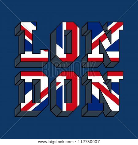 london typography, t-shirt graphics
