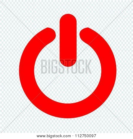 On Off Switch Icon Illustration Design