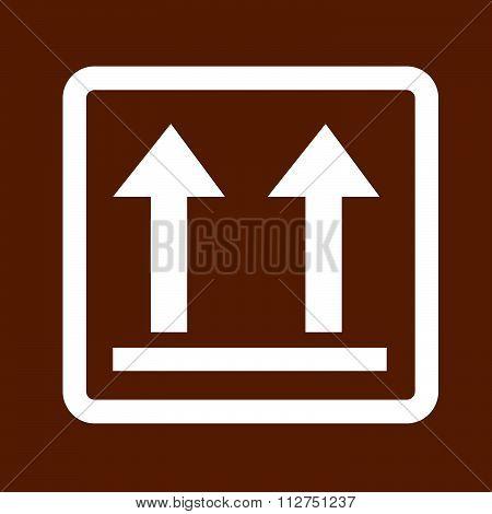 Fragile Icon Symbol Illustration Design