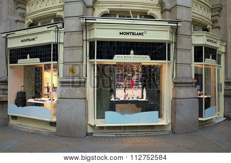 Montblanc Store - London