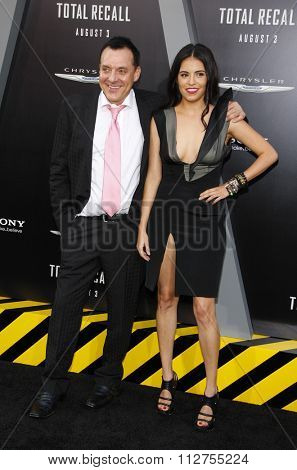 LOS ANGELES, CALIFORNIA - August 1, 2012. Tom Sizemore at the Los Angeles premiere of