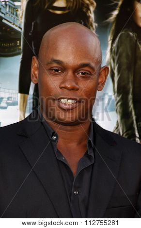 Bokeem Woodbine at the Los Angeles premiere of
