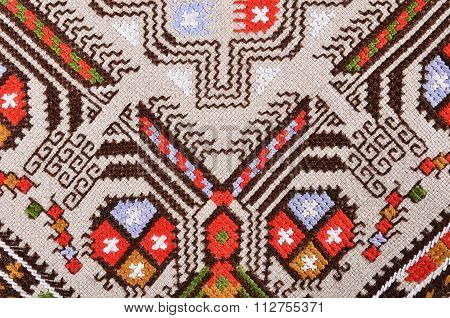 Bulgarian hand embroidery