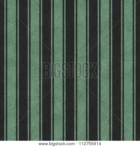Green And Black Striped Tile Pattern Repeat Background