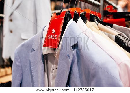 Sale In The  Casual Menswear Store