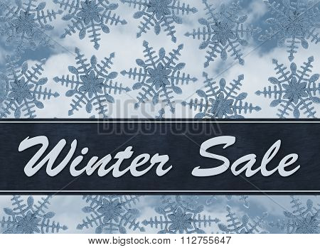 Winter Sale Message
