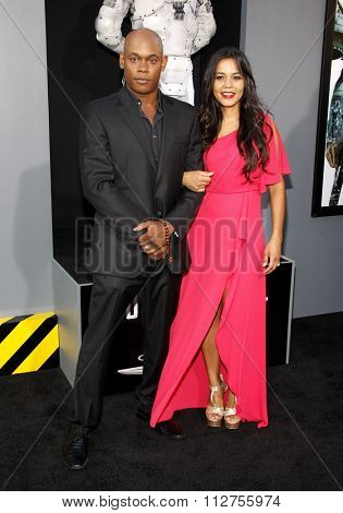 LOS ANGELES, CALIFORNIA - August 1, 2012. Bokeem Woodbine at the Los Angeles premiere of