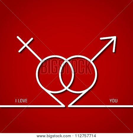 Valentine Outline