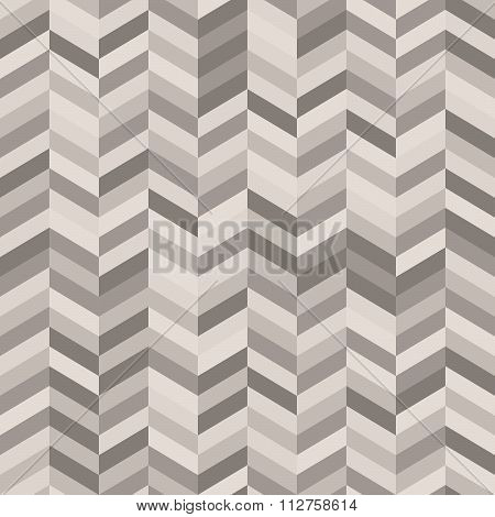 Zig Zag Abstract Background In Shades Of Warm Gray