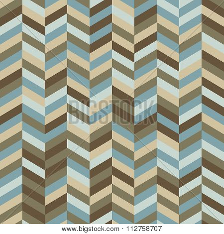 Zig Zag Background In Trendy Hipster Colors