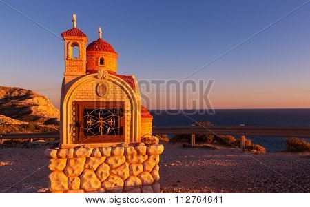 Small chapel h in Cyprus