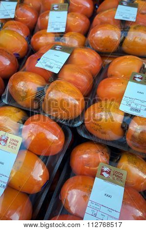 Persimmon Fruit Display