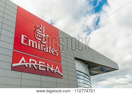 Erirates Arena Glasgow