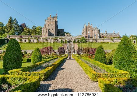 Drummond Castle And Gardens, Perthshire Scotland.